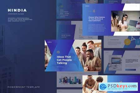 Hindia - Corporate Style Powerpoint and Google Slides Templates