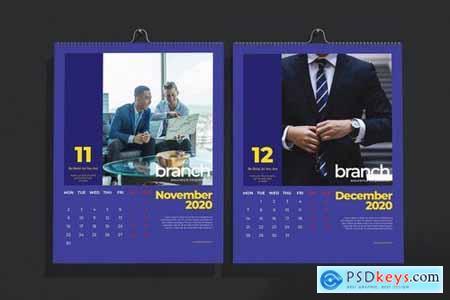 Branch Assurance Wall Calendar 2020