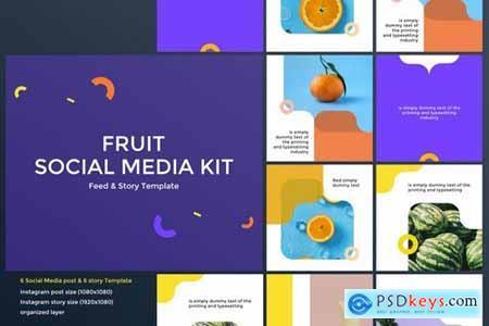 Fruit Social Media Kit