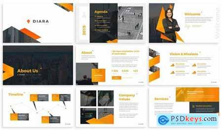 Diara - Annual Report Powerpoint Template