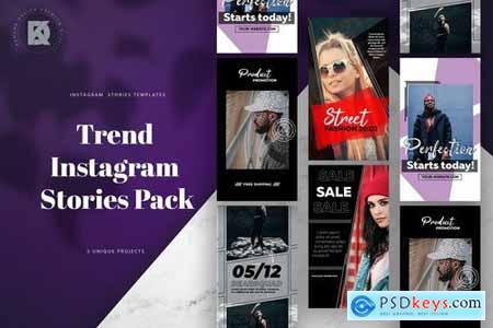 Instagram Trendy Stories Pack