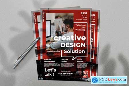 Creative Solution Flyer