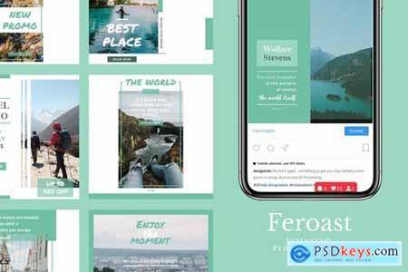 Feroast - Instagram Feeds Pack