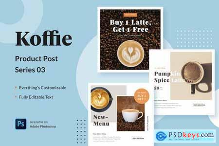 Koffie Product - Series