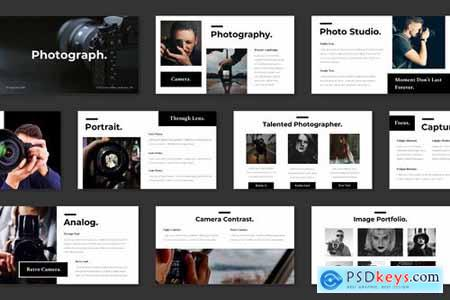 Photography - Powerpoint and Keynote Templates