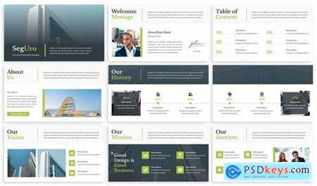 Seguro - Marketing Plan Powerpoint Template
