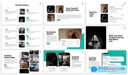 Perdu - Business Plan Powerpoint Template