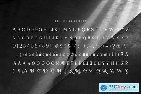 Modern Mode - Modern Serif Font
