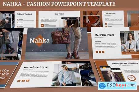 Nahka - Fashion Powerpoint Template