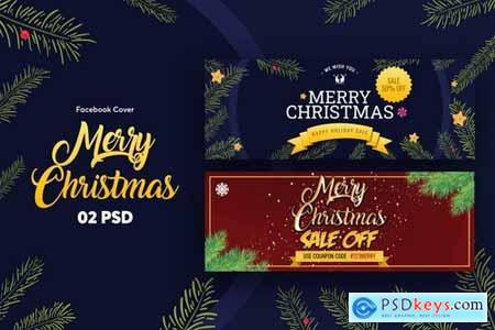 Merry Christmas Facebook Cover
