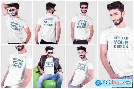 Male t-shirt Mockup-V-2-004 4184037