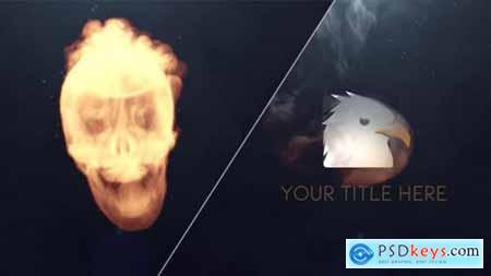 Videohive Skull Logo Reveal 19778999
