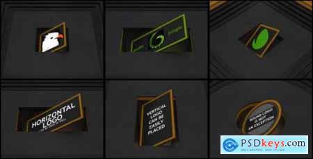 Videohive Rotation Ident (Dark) 16926831