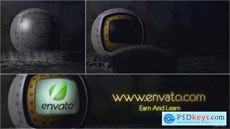 Videohive The Metal Sphere Logo 3750423