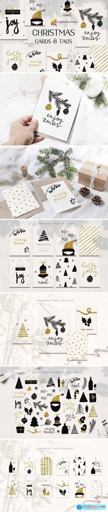 Christmas Holiday Cards & Tags Set 2202750