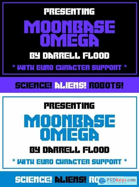 Moonbase Omega Font