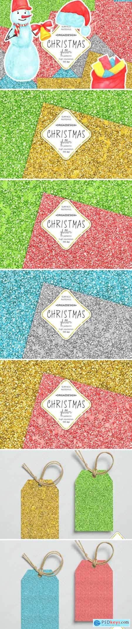 Christmas Glitter Seamless Pattern 2194585