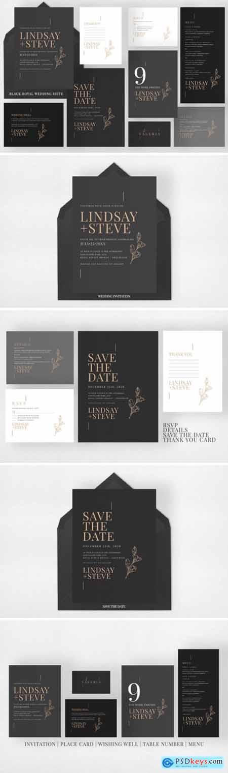 Black Royal Wedding Suite 2196238