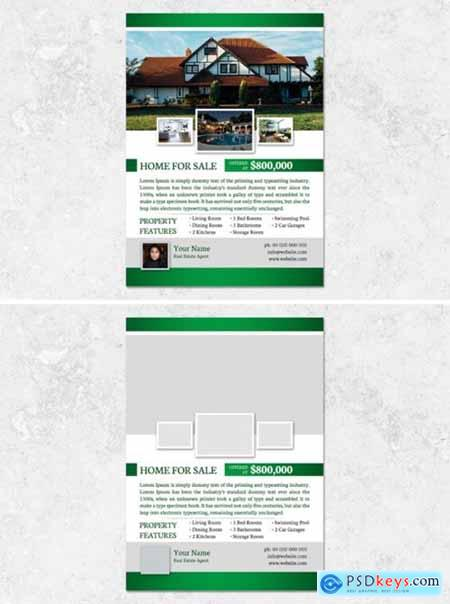 Real Estate Flyer Template 2194886