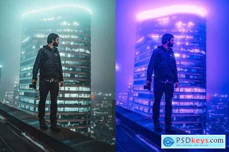 Cyberpunk Actions For Photoshop 4326117