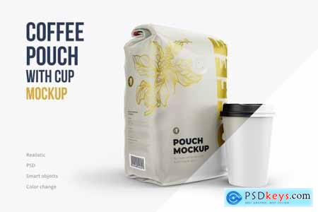 Coffee pouch with Cup Half Side 4233139