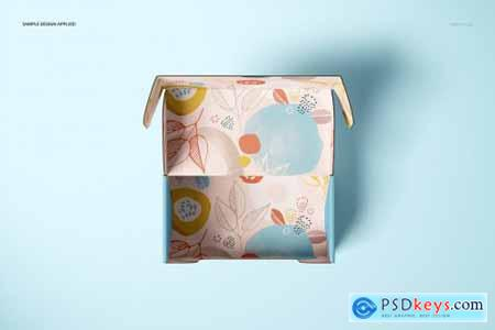 Front Tuck Mailer Box Mockup Set 02 4351655