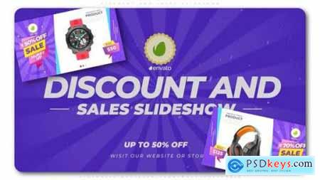 Videohive Discount and Sales Slideshow 25234226