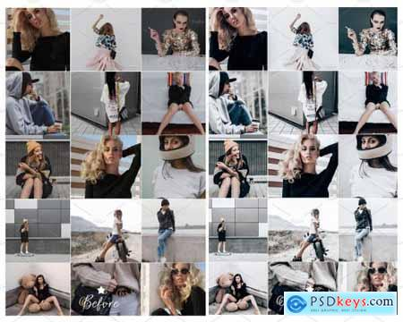 10 LIGHTROOM PRESETS CHIC COLLECTION 4171698