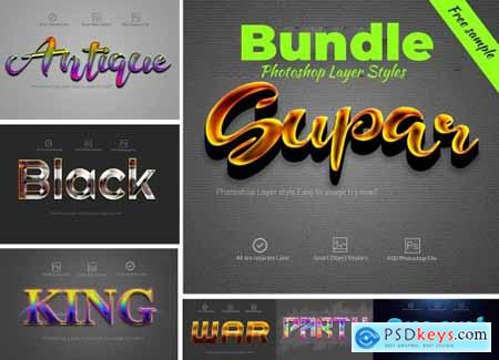 Bundle Photoshop Layer Style 4219240
