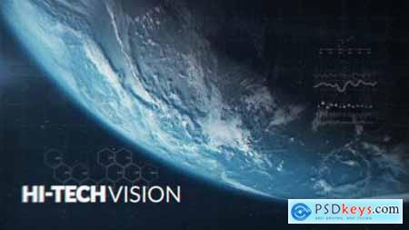 Videohive Futuristic Space Trailer 23719405