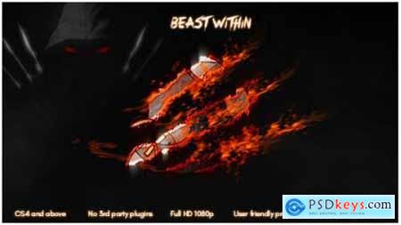 Videohive Beast Within 17253184