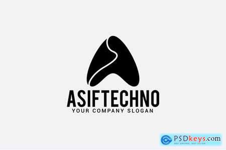 asiftechno Letter A Logo