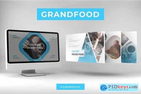 Grand Food - Powerpoint Google Slides and Keynote Templates