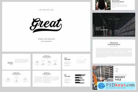 Great Powerpoint Template and Keynote Templates