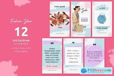 Fashion Store - Instagram Posts & Stories