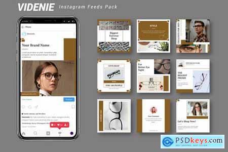 Videnie - Instagram Feeds Pack