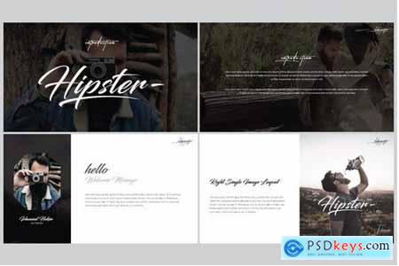 Hipster Powerpoint and Keynote Templates