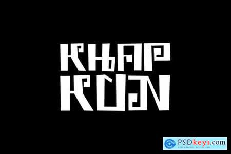 Phataya - Thailand Style Font