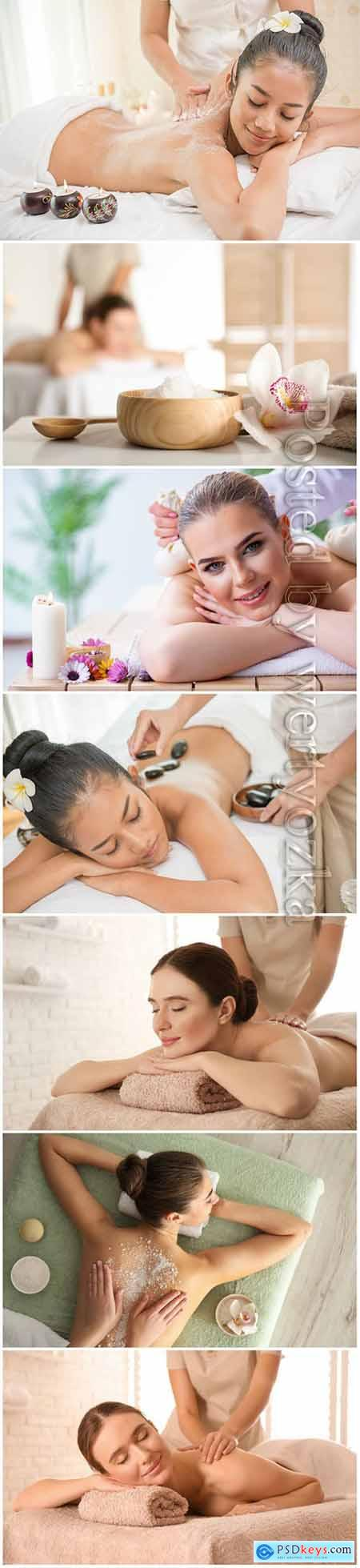 Spa treatments, beautiful, girls, spa, massage