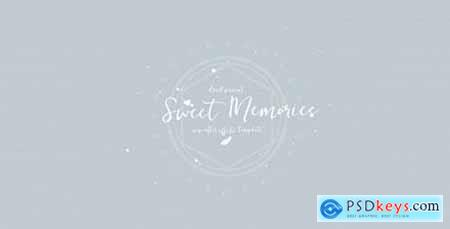 Videohive Sweet Memories Slideshow Vintage Memories Slides- Romantic Wedding- Photo Gallery- Minimal Intro 19070778