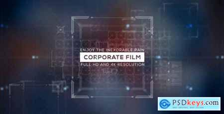 Videohive Corporate Film- Icons and Text- 3D Cube and Transitions- Business and Economic Slide- Presentation 14992185