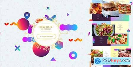 Videohive Cafe- Restaurant Promo- Modern Bar Menu- Fast Food- Vegetarian Dish- Meal Delivery- Insta Lunchroom 19793967