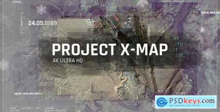 Videohive Project X MAP Technology Paralax Slideshow 3D Camera Clean Travel Memories Satellite Photo 21257538