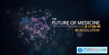Videohive The Future Medicine Corporate- Medical Presentation- Healthcare Promo- Digital DNA and Molecules 15305890