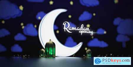 Videohive Ramadan Kareem Opening- Lamp Lights- Arab Logo Reveal- Muslims Intro- Cloud and Stars- Night Light 19995385