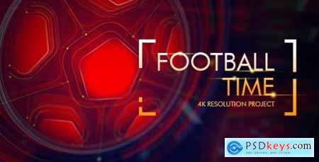 Videohive Football Time- Action Promo Id- Soccer Intro- League of Champions- World Cup- Sport Broadcast 16507717