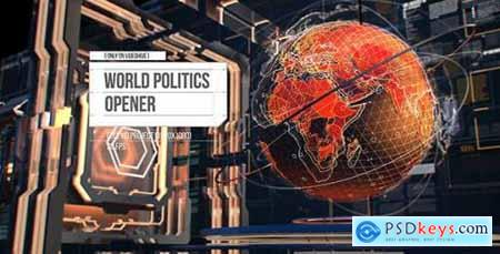 Videohive World Politics News Openers- Business and Technology Intro- Political and Digital World Ears Openers 18187686