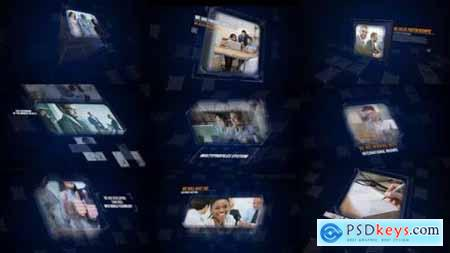 Videohive Future Corporate Slideshow- Digital Slides- Business Idea- Meeting and Presentation- Cube and Glas 15400769