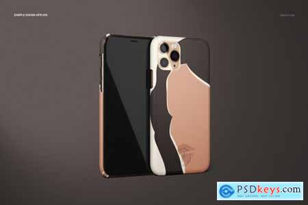 iPhone 11 Pro Matte Snap Case Mockup 4364960