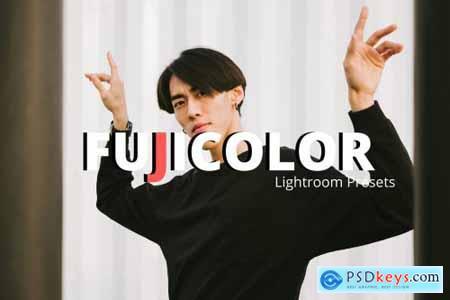 Fujicolor Lightroom Presets XMP-DNG 4364898